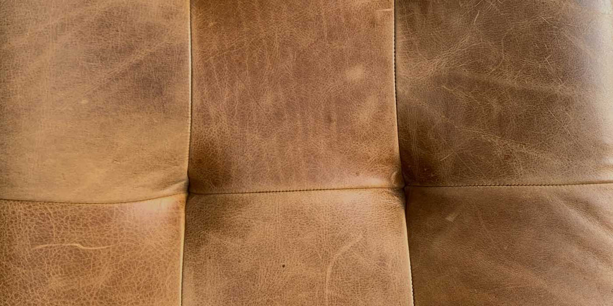 Close up of Leather Seating