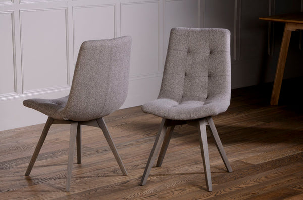 Allegro Tweed Dining Chairs