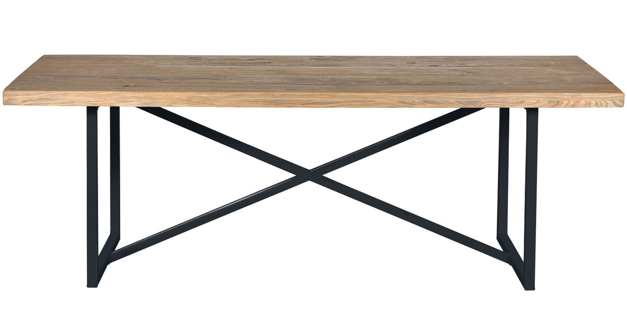 Amalfi Industrial Oak Dining Table