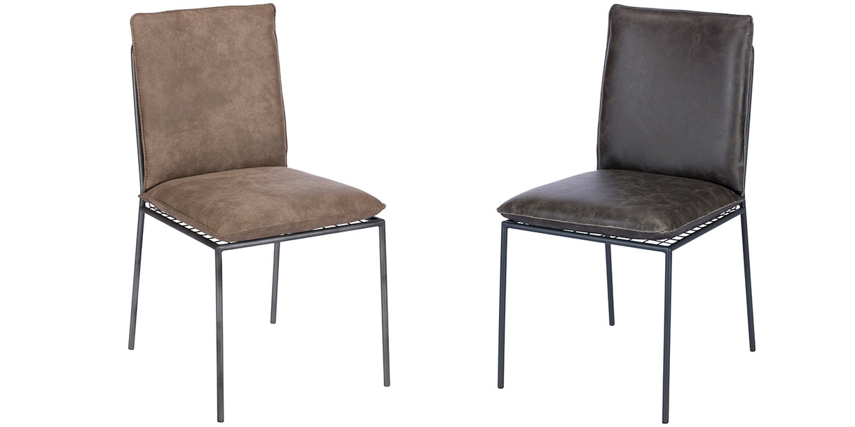 Amelia Faux Leather Dining Chairs