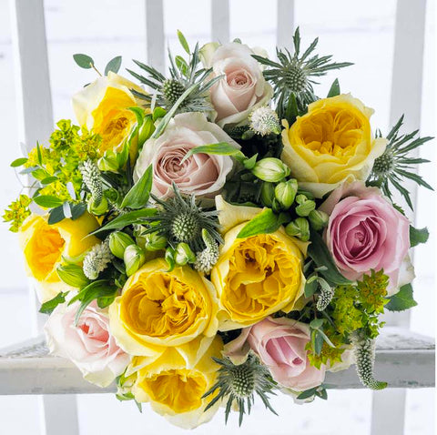 Yellow Flower Bouquet by Appleyard London