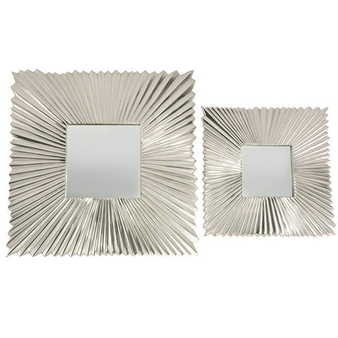 Art Deco Square Mirror
