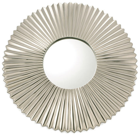 Art Deco Medium Round Wall Mirror