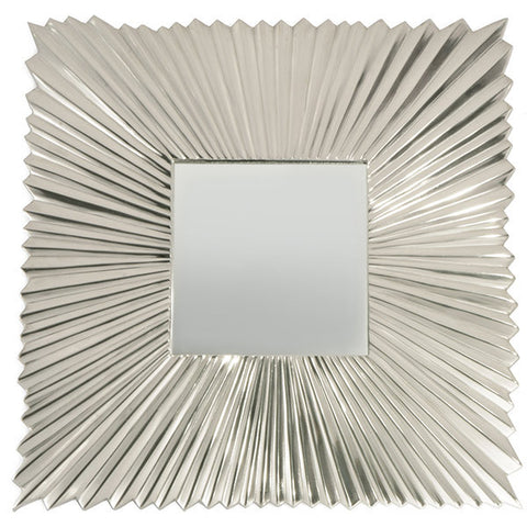 Art Deco Square Mirror Wall