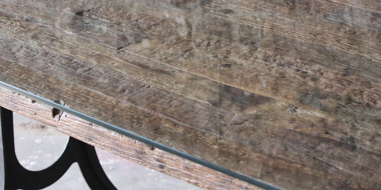 Ashburnham Industrial Reclaimed Wood Coffee Table top
