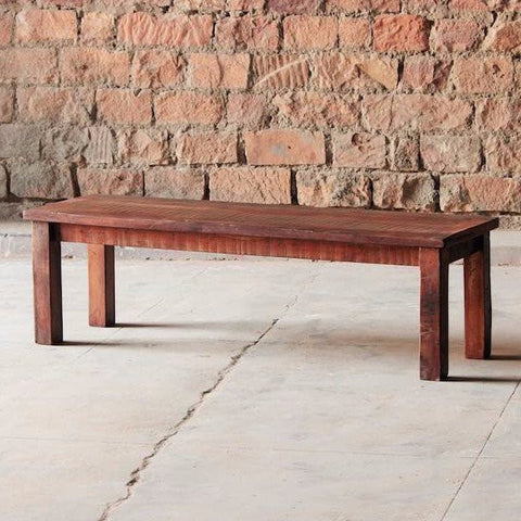 Rustica Reclaimed Wood Dining Bench