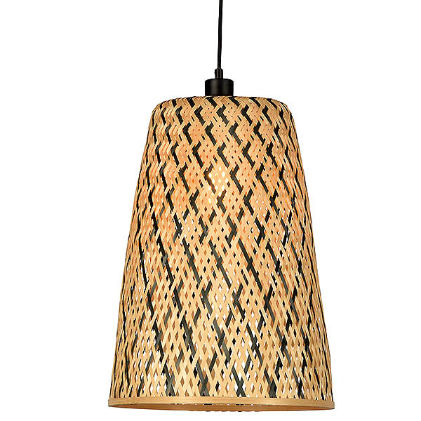 Bamboo Manta Tapered Pendant Light