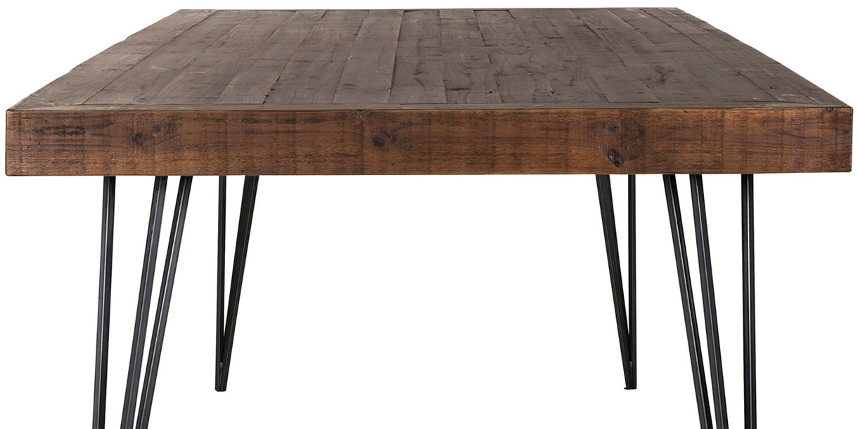 Barclay Reclaimed Wood Dining Table Cutout