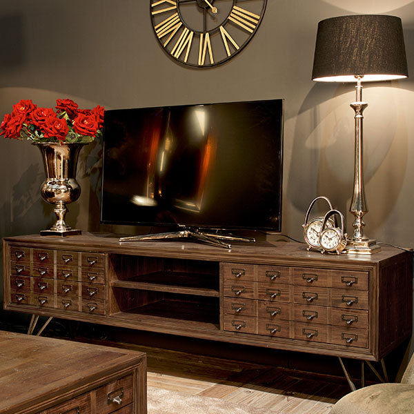 Barclay Reclaimed Wood TV Unit