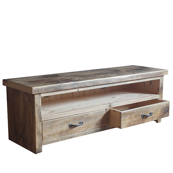 Beam Reclaimed Wood TV Cabinet