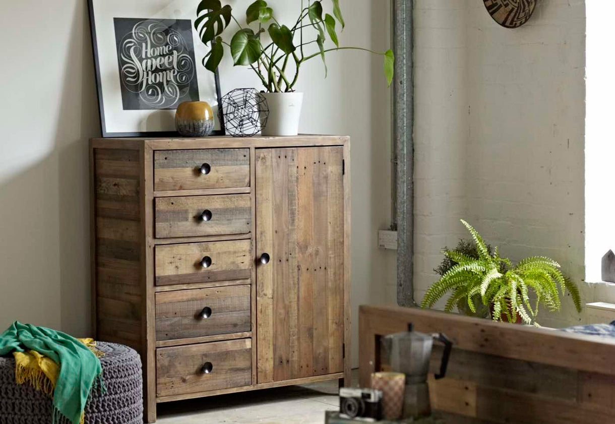 Reclaimed Wood Century Chest Standford