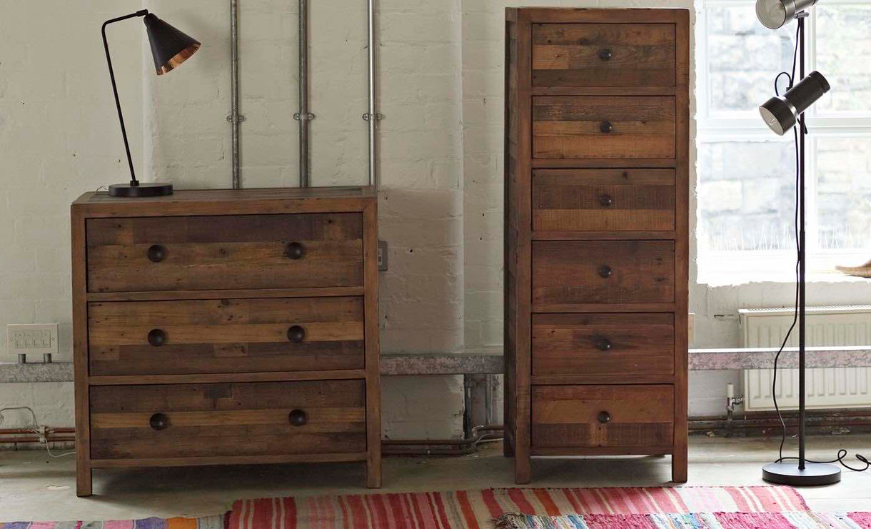 Standford Reclaimed Wood Medium Chest of Drawers