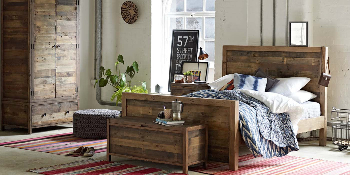 Standford Reclaimed Wood Bedroom Furniture