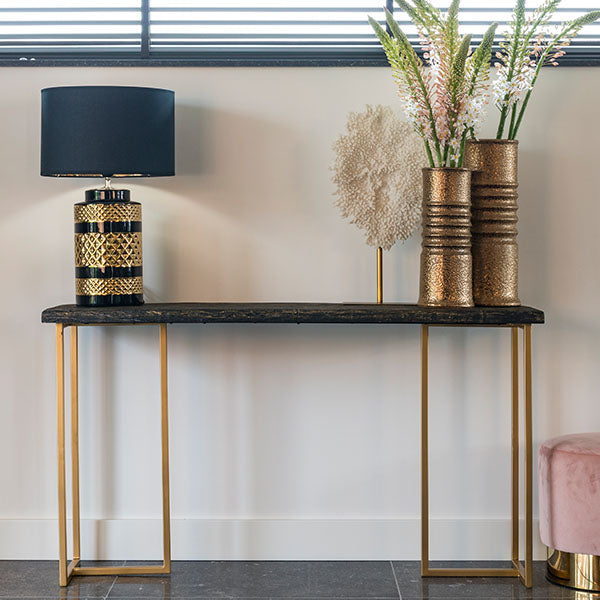 Belfort Industrial Console Table