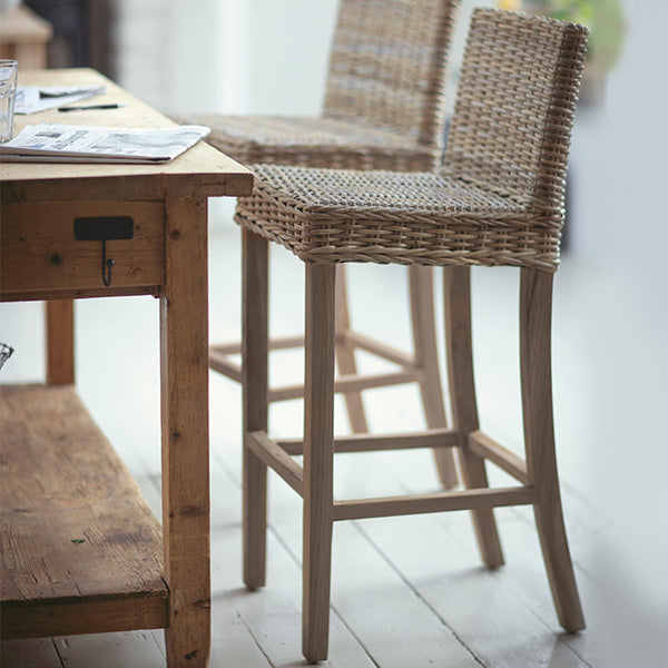 Bembridge Rattan Bar Stool