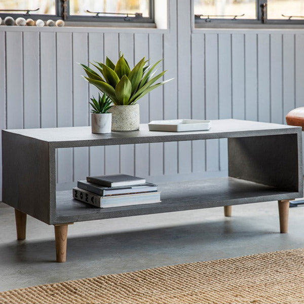 Hudson Living Ohio Cube Coffee Table