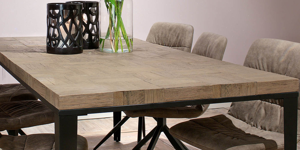 Bonanza Reclaimed Oak Dining Table Top