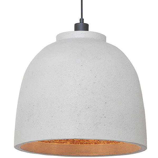 Bordur White Woodchip Pendant Light
