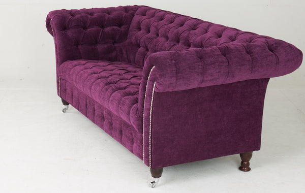 Bretby Chesterfield Sofa in Velvet
