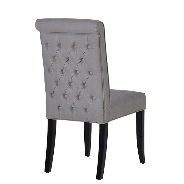 Brownsville Grey Upholstered Dining Chair