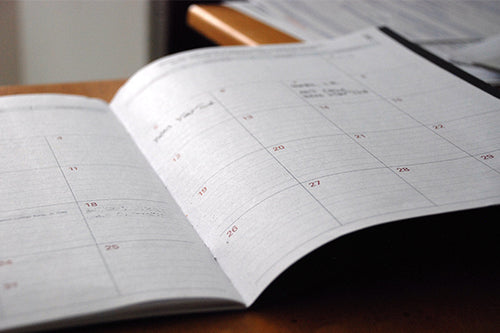 Calendar for Finance at Modish Living