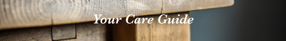 English Beam Reclaimed Wood Bed Care Guide