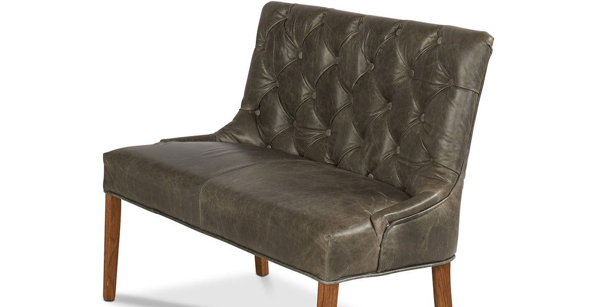 Castello Leather Dining Bench