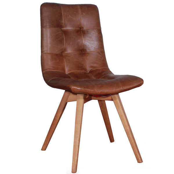 Allegro Cerato Leather Dining Chairs