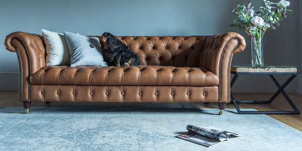 How to style Best-selling Leather Sofas and Armchairs ...