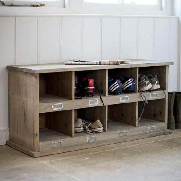 Chedworth Wooden Shoe Storage Natural