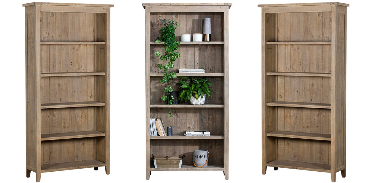 Chelwood Reclaimed Wood Bookcases