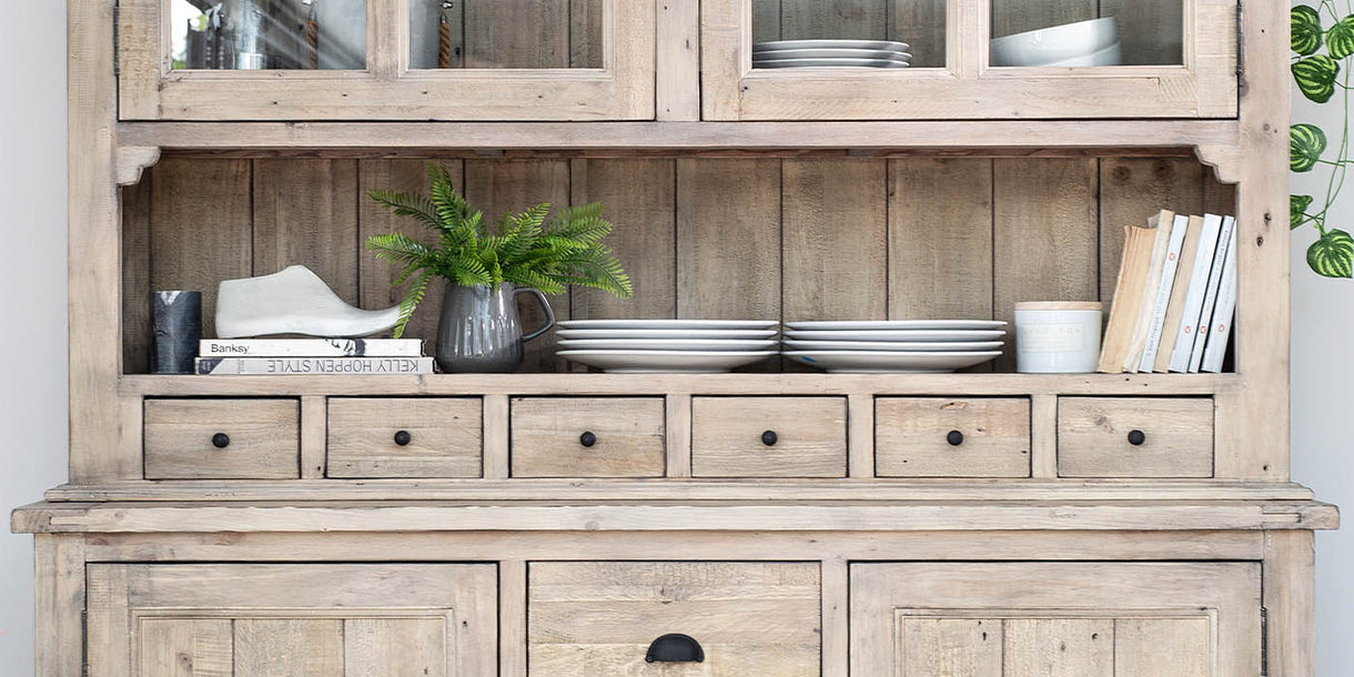 Chelwood Reclaimed Wood Dresser Lifestyle