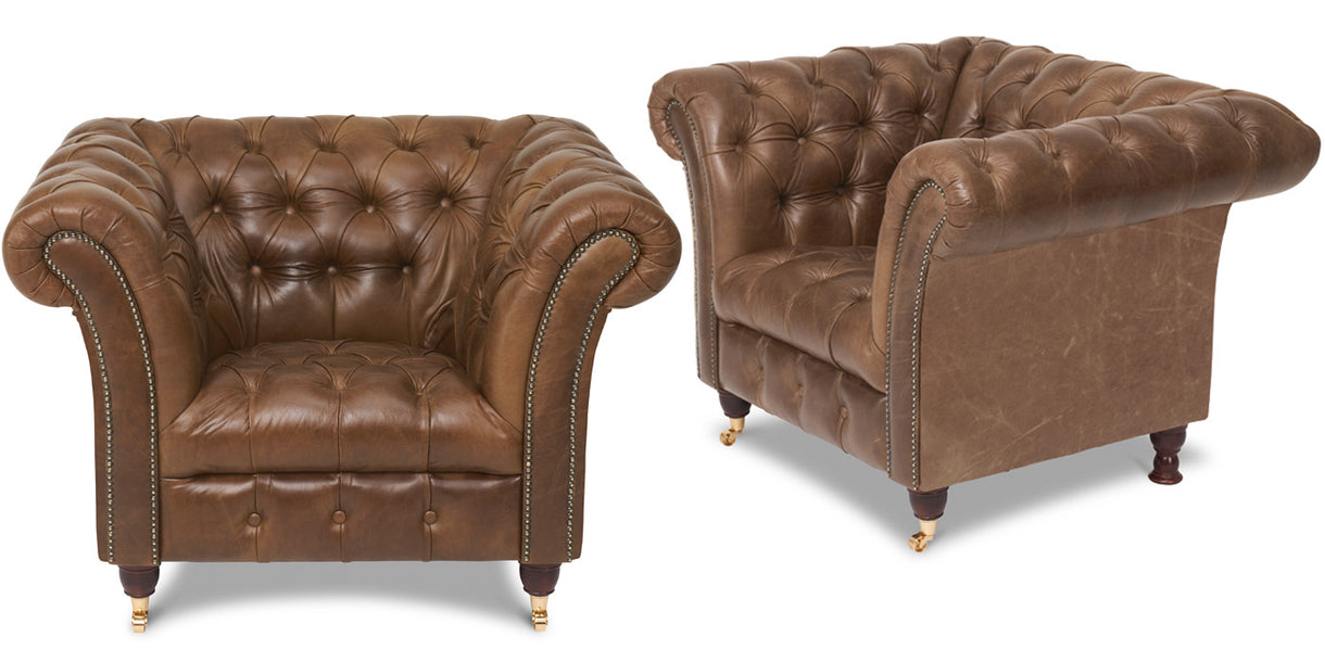 Chester Club Leather Armchairs