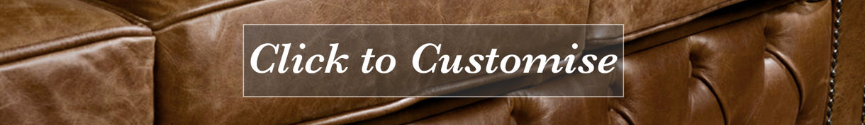 Brown Cerato Leather Sofa Customise