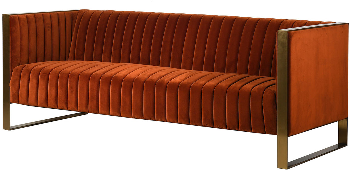 Chestey Velvet Sofa 3 Seater