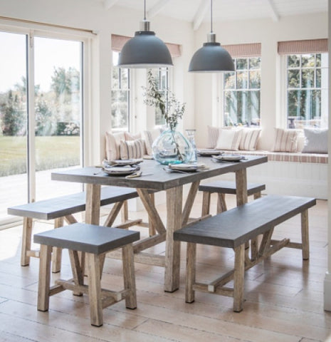 Chilson Table and Bench Set in Dining room