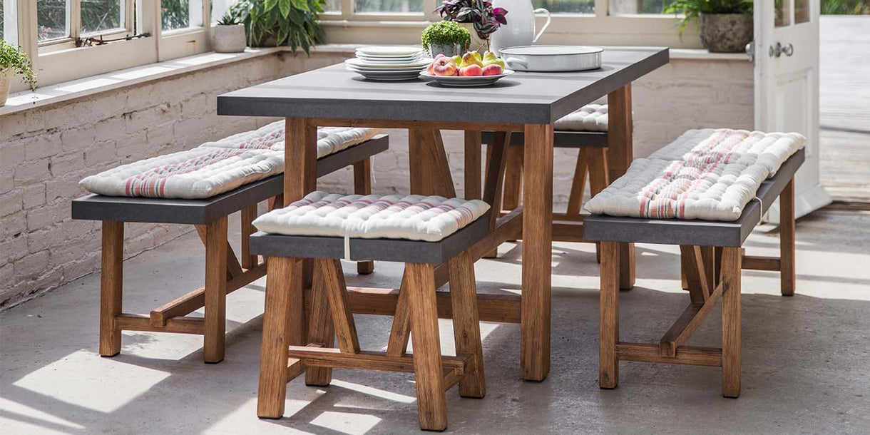 Chilson Table and Bench Set lifestyle