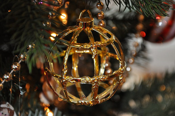 Christmas Tree Geometric Decoration