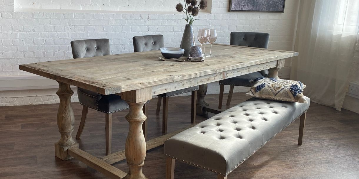 Picture of: Reclaimed Wood Dining Table Modish Living