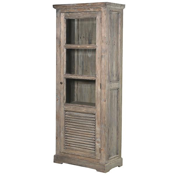 Colette Reclaimed Wood Glazed Bookcase