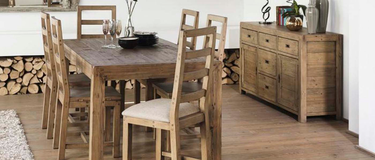Cotswold Reclaimed Wood Dining Room Furniture