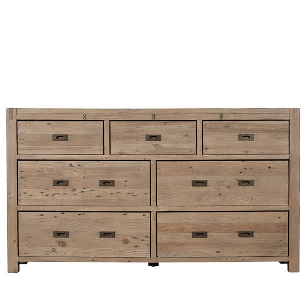 Cotswold Large Reclaimed Wood Chest of Drawers