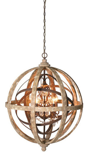 Gold coloured round pendant light with a luxurious feel