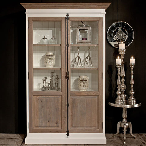 Display Unit with Brass Handles
