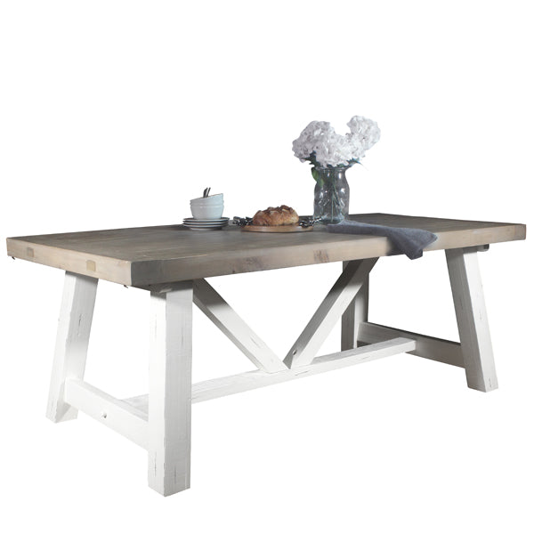 How To Stylishly Dress Your Farmhouse Trestle Table Modish Living