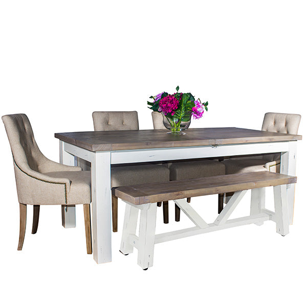 Dorset Reclaimed Wood Extendable Dining Table