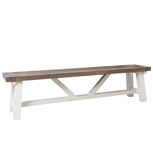 Dorset Reclaimed Wood Dining Bench