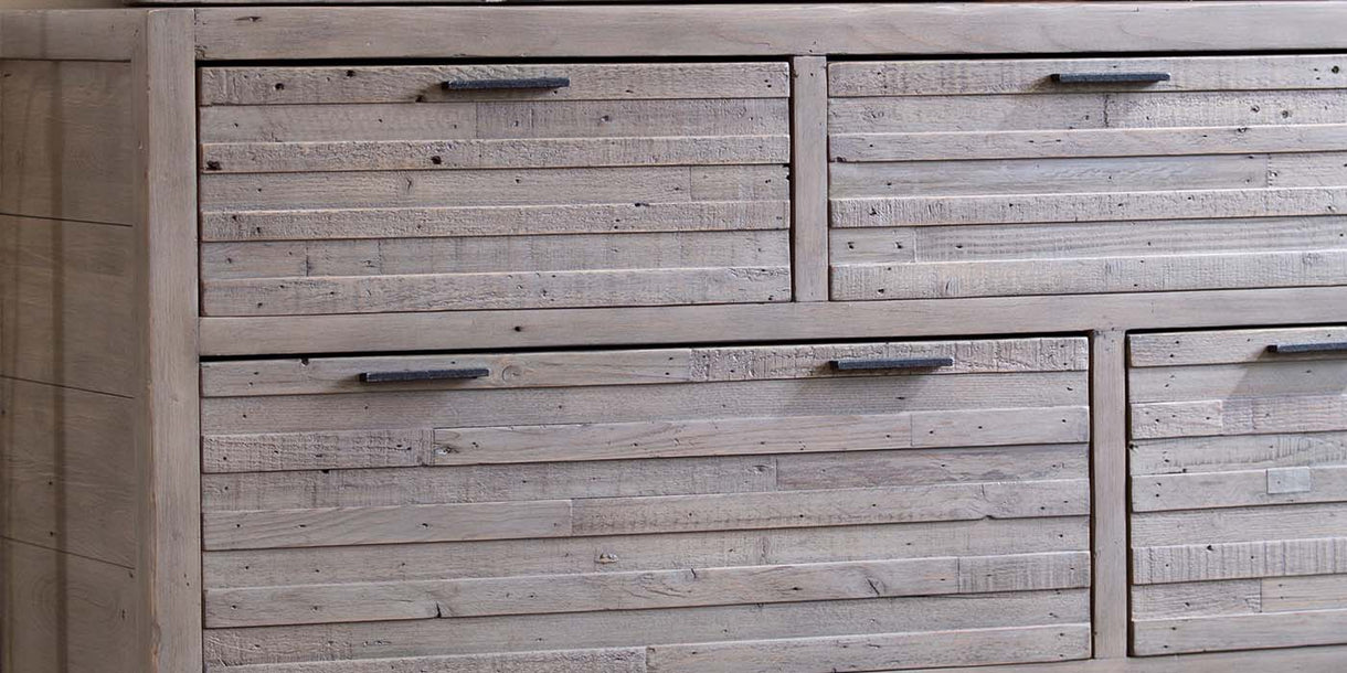 Dulwich Large Reclaimed Wood Chest of Drawers