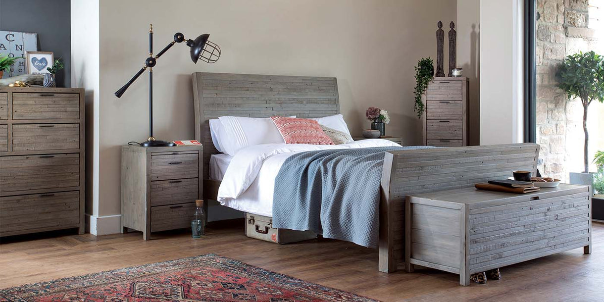 Picture of: Dulwich Reclaimed Wood Bed Modish Living