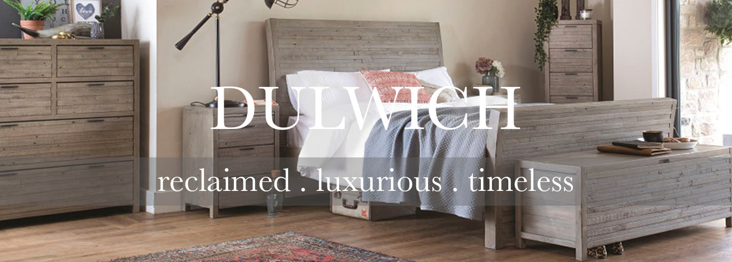 Dulwich Reclaimed Wood Bedroom Furniture
